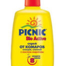 Спрей от комаров и клещей Picnic Bio Active 120мл (Пикник Био Эктив)