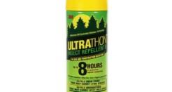 Спрей для защиты от комаров клещей UltraThon